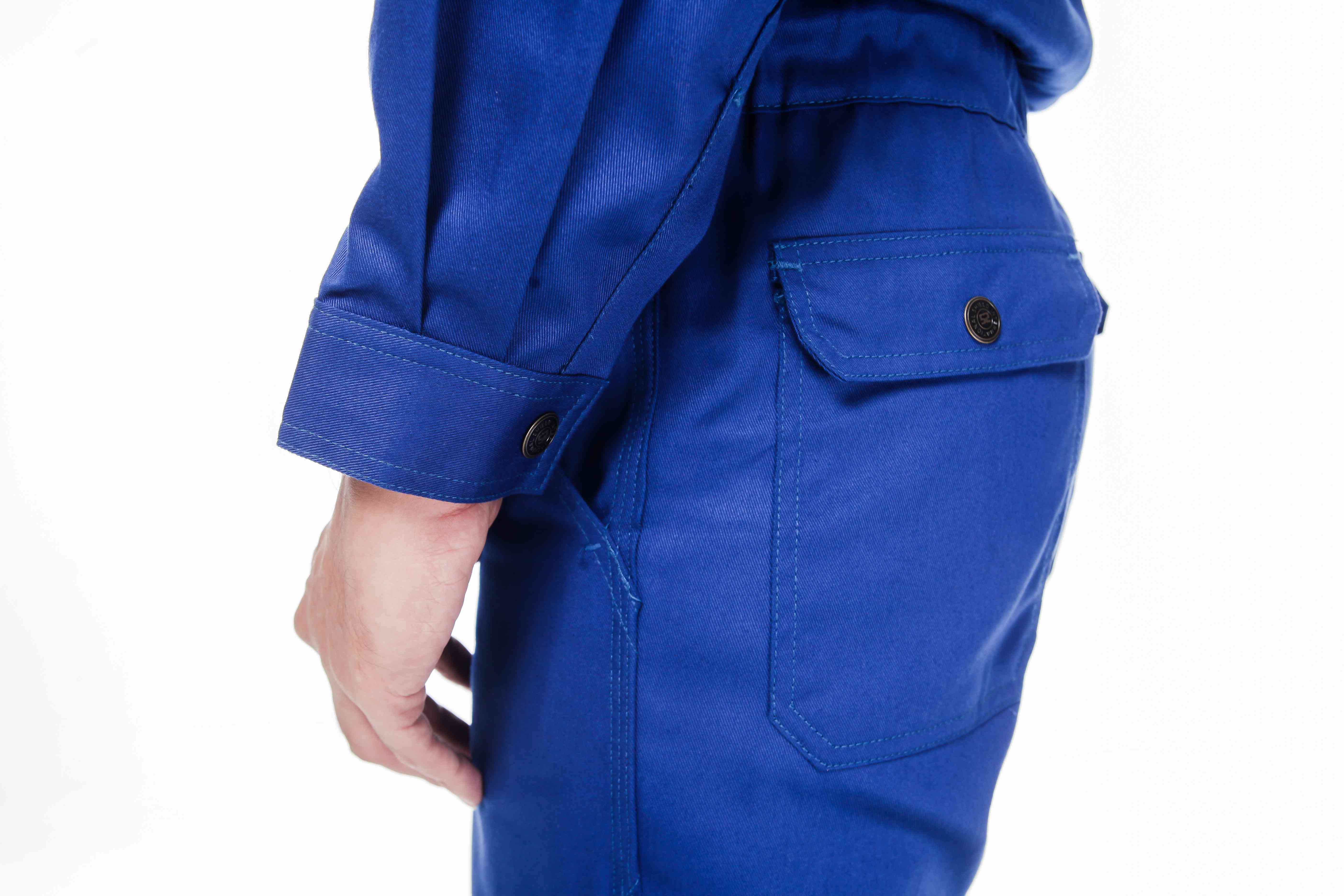 cuffs, pocket and pants Fire Retardant Coverall Shield International